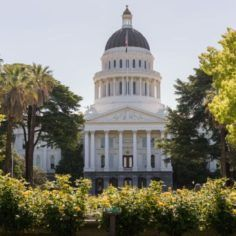 Image of California state capitol