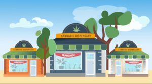 Marijuana franchising
