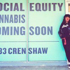 Kika Keith, Los Angeles cannabis