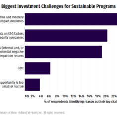 Chart showing ESG challenges