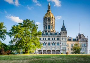 Image of Connecticut state capitol building