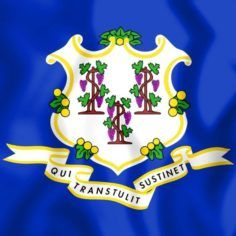 Image of Connecticut state flag
