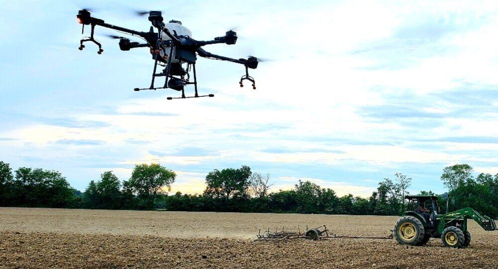 hemp drones, Drones offer outdoor cannabis cultivators precise solutions