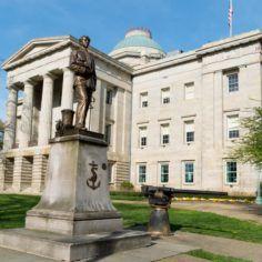 Image of North Carolina state capitol building