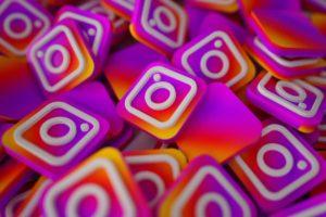 Collage of Instagram logos