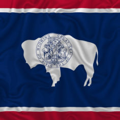 Image of Wyoming state flag