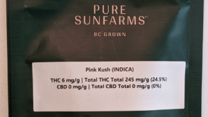 Image of a Pure Sunfarms package