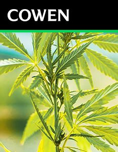 Cowen Report: Charting Cannabis: A State-Level Deep Dive